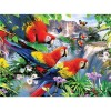 Bird & Waterfall 5D DIY Paint By Diamond Kit