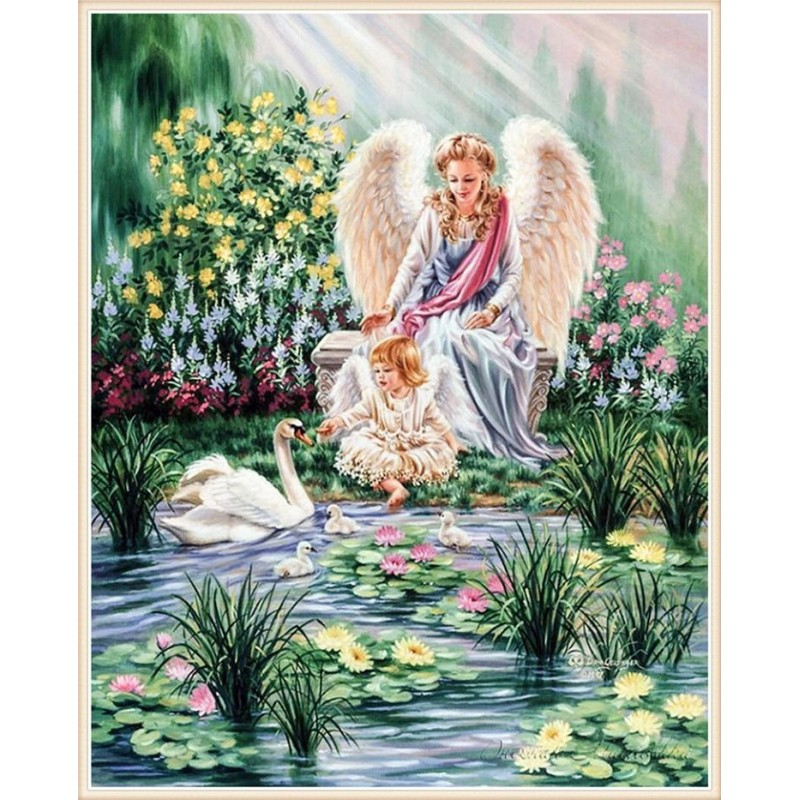 Angel with the Swans...