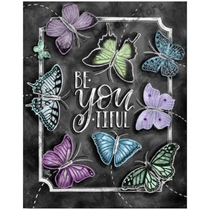 Be YOU Tiful Butterf...