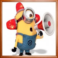 Minion With The Speakers ...