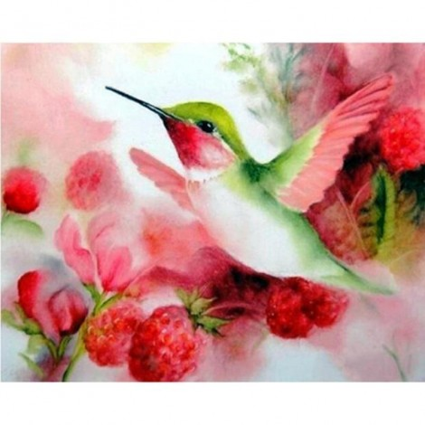 Flying Hummingbird 5D DIY Paint By Diamond Kit